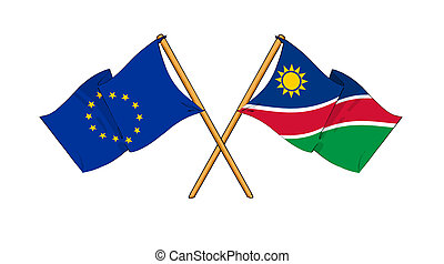 European Union and Namibia alliance and friendship -...
