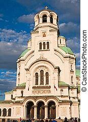 Memorial Church of St. Alexander Nevsky. Sofia, Bulgaria