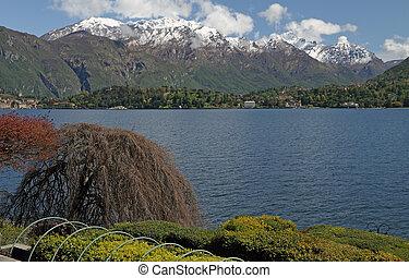 fantastic view of lake Como