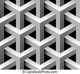 3d industrial seamless vector tile - 3d industrial seamless...