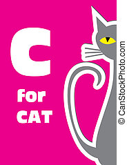 C for the Cat, an animal alphabet