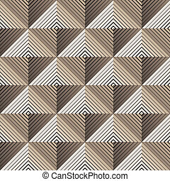 pyramidal seamless pattern vector illustration