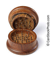 Grinder marihuana detail 7 - Grinder marihuana detail. The...