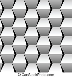 stacked cubes seamless pattern