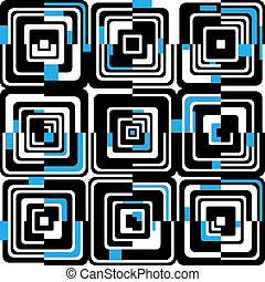 abstract seamless pattern - vector abstract seamless pattern