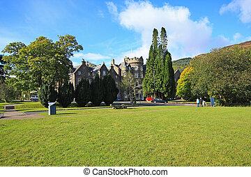Outono,  tarbet, Reino Unido, Escócia