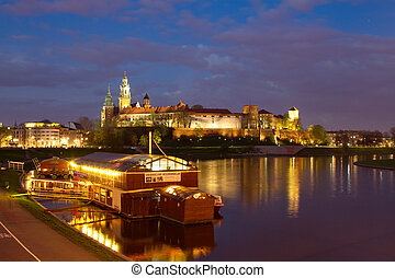 Krakow city in Poland, Europe - Krakow city in Poland,...
