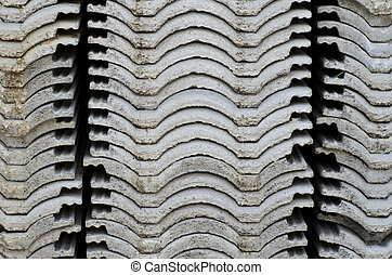 Roof-Tile Stack - A photo of Roof-Tile Stack. This photo was...