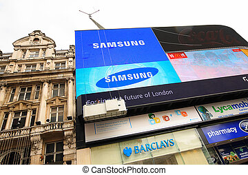 Picadilly Circus, London - Picadilly Circus, London, Summer...