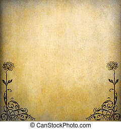 Grunge paper background with copy space