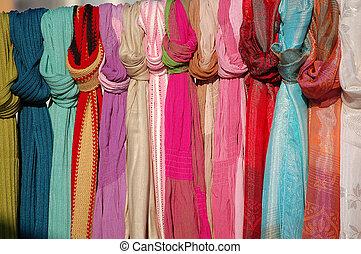bufandas, colorido
