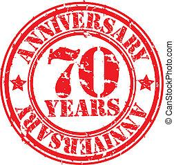 Grunge 85 years happy birthday rubb