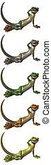 Toonimal Gecko - 3D Render of an Toonimal Gecko