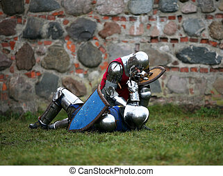 Knights - Struggle medieval knights. Show in Kaunas