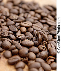 Coffee beans - shallow depth of field used