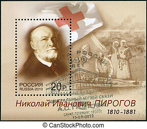 RUSSIA - CIRCA 2010: A stamp printed in Russia shows the...
