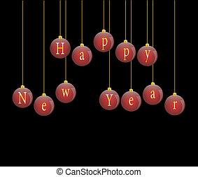 Happy new year 2013 vector illustra