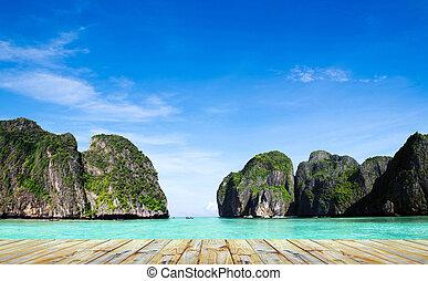 Maya bay Phi phi leh island Thailand