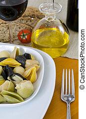 Italian Pasta multicolor