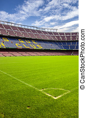 FC Barcelona Nou Camp football stadium