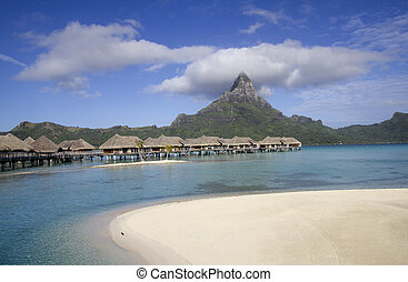 bora bora - luxury resort in bora bora