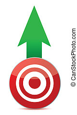 arrow and target illustration