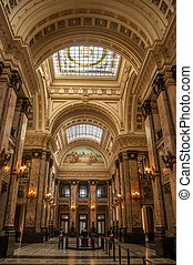 Uruguayan Congress - Beautiful interior of Uruguay Congress...