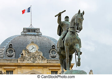Equestrian Statue of Marechal Joffre at the Champ de Mars in...