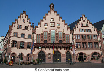 Romer - The Romer Haus in Frankfurt, Germany.