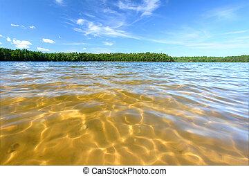 Northwoods Swimming Beach - Beautiful swimming beach of a...