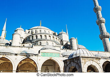 Beautiful Blue Mosque - The Blue Mosque, Istanbul Turkey