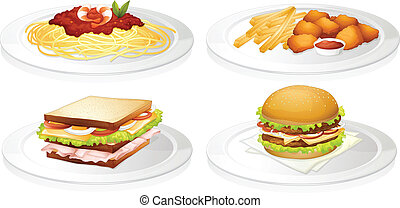 a food - illustration of a food on a white background