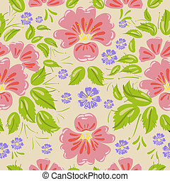 Floral seamless background texture