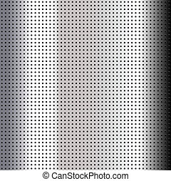 Metallic perforated chromium sheet