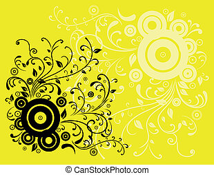 Abstract colour background