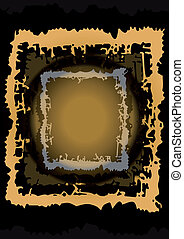 Abstract frame - Illustration of abstract frame