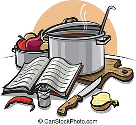 Illustrations de cuisinier 137 190 images clip art et for Art and cuisine cookware review