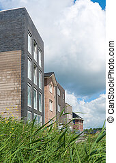 modern houses - newly build modern houses in Almere,...