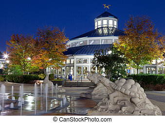 Chattanooga - Coolidge Park Carousel, Chattanooga, Tennessee...
