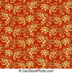 Christmas red paper wrapping background. Abstract seamless...
