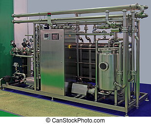 food-processing industry - The equipment for pasteurization...