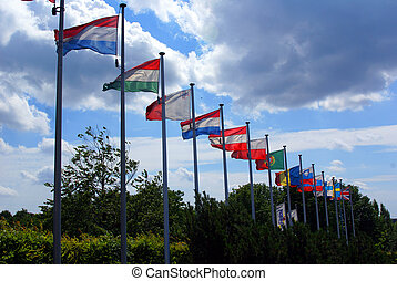 Flags of Eripean Union - Flags of almost all countries of...