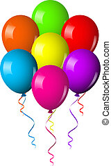 colorful Balloons Bouquet