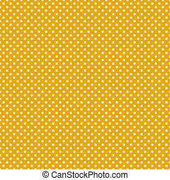 Seamless Polka Dot Background - Small cream or off white...