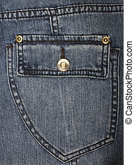 jeans pocket as a background - blue jeans pocket as a...