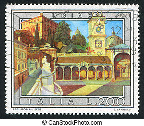 Udine - ITALY - CIRCA 1978: stamp printed by Italy, shows...