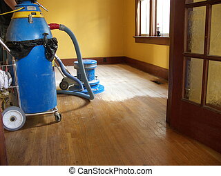home improvement - hardwood floor sanding and refinishing