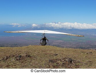 Hang Glider at Maui Hawaii