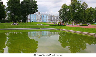 Catherine Palace in Pushkin, St Petersburg