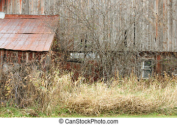 Old Barn in a rural setting